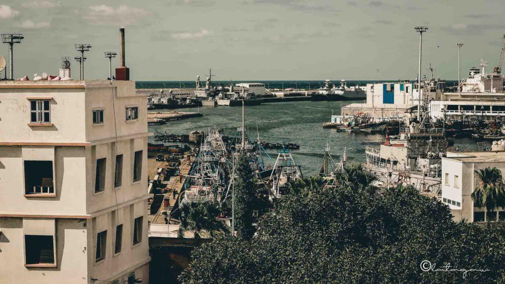 port of casablanca in morocco