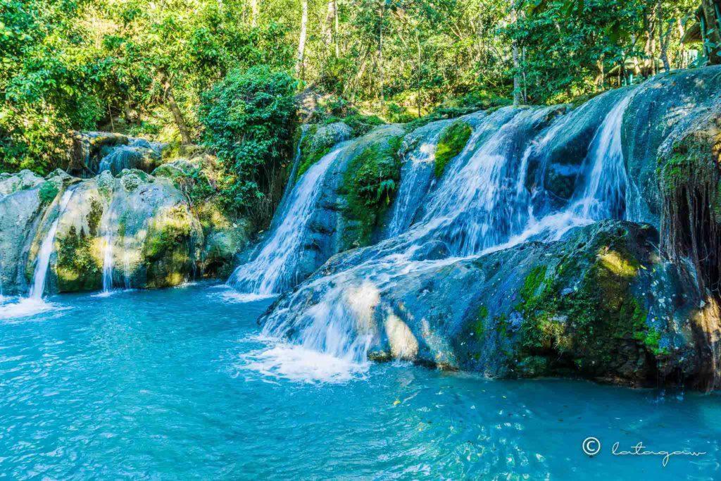 hagimit falls located in Peñaplata